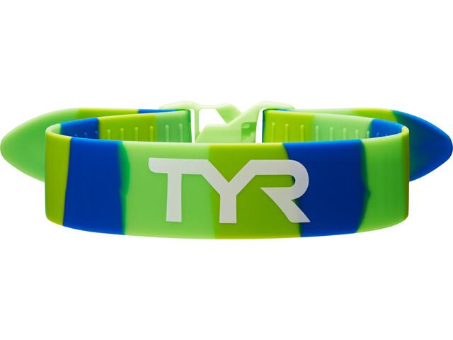 TYR Training Pasek ściągający, zielony/niebieski